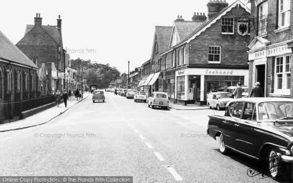 Heathfield, High Street c1960