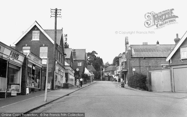 Heathfield, Station Road c1955