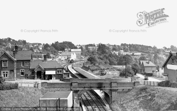 Heathfield, the Station c1955