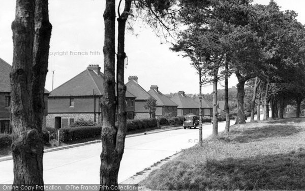 Heathfield, Theobalds Green c1955