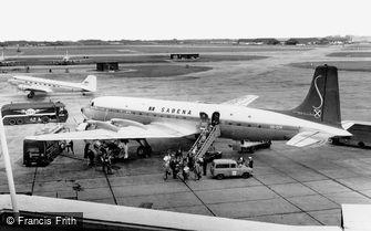 Heathrow, on the Apron c1960