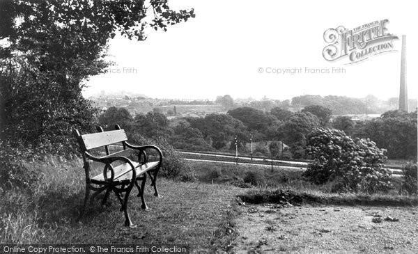 Heaton Mersey, a Pretty Corner c1955