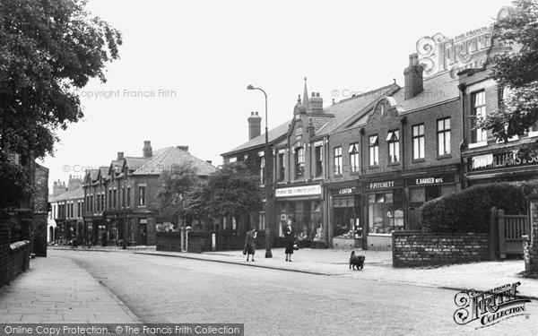 Heaton Mersey, Didsbury Road 1951
