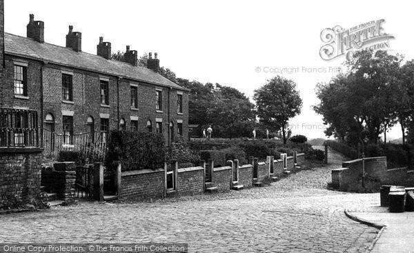 Heaton Mersey, the Park Entrance c1955