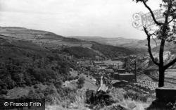 Hebden Bridge, General View c.1955