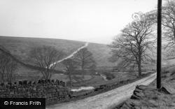 Hebden Bridge, The Moors c.1955