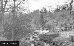 Hebden Bridge, The Stream, Hardcastle Crags c.1955