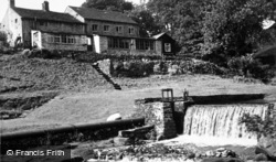 The Waterfall, Scale Haw Cottage Guest House c.1960, Hebden