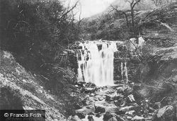 Waterfall c.1900, Hebden