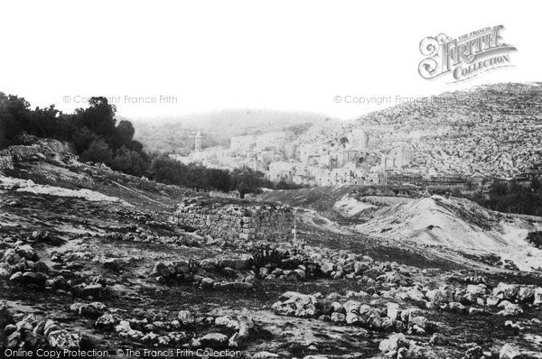 Photo of Hebron, 1857