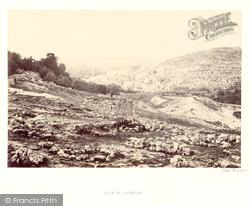 Hebron, 1857