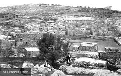 Hebron, With Mosque Covering The Cave Of Machpelah 1857