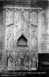 Heckington, The Church, Easter Sepulchre 1893
