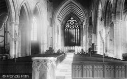 The Church Interior 1893, Heckington