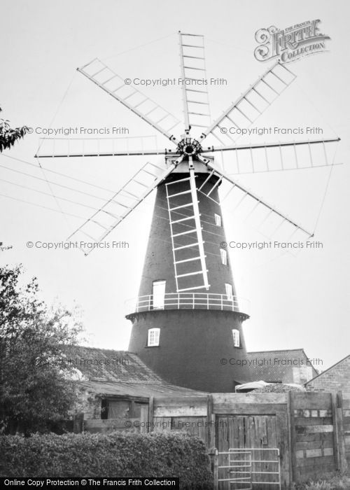 Heckington,the Mill c1955,Lincolnshire