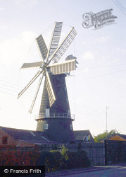 Heckington, The Windmill 1989