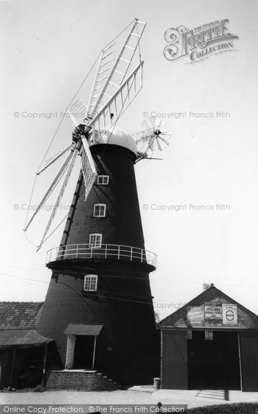 Heckington,the Windmill c1955,Lincolnshire