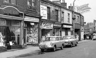 Heckmondwike, Cars In Market Street c.1965