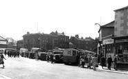 Heckmondwike, Market Place c1960