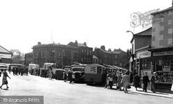 Heckmondwike, Market Place c.1960