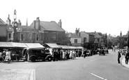 Heckmondwike, Market Street And Westgate c.1955