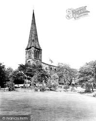 Heckmondwike, St James Church c.1955