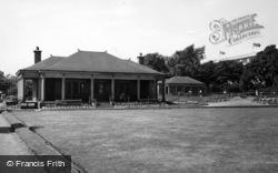 Heckmondwike, The Algernon Firth Recreation Ground c.1955