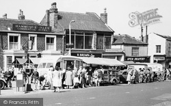 Heckmondwike, The Market c.1960