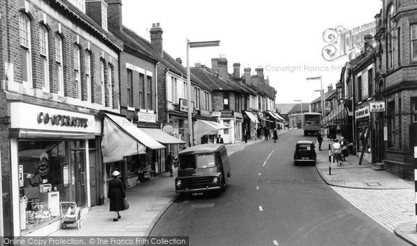 Hednesford, Market Street 1960