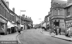 Hednesford, Market Street c.1960