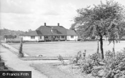 Hednesford, Park Bowling Green And Pavilion c.1960