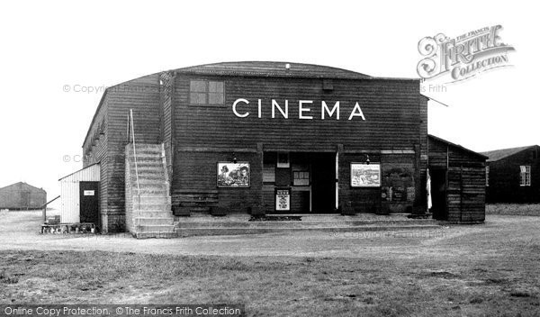 Hednesford, The Cinema, R.A.F. Hednesford c.1960