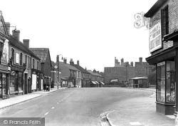 Hednesford, The Crescent c.1955
