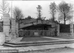 Hednesford, The Grotto, Our Lady Of Lourdes c.1955