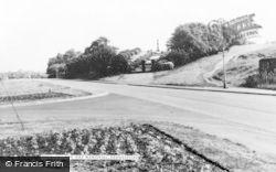 Hednesford, The War Memorial c.1960