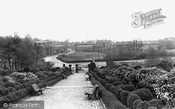 Hednesford, View From War Memorial c.1955