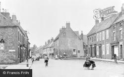 Market Place c.1955, Hedon