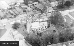 Heighington, Aerial View Of St Michael's Church c.1955