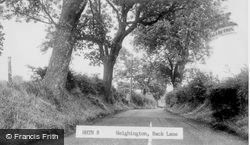 Back Lane c.1955, Heighington