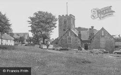St Michael's Church And School c.1955, Heighington