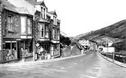 Hele, Main Road c1955