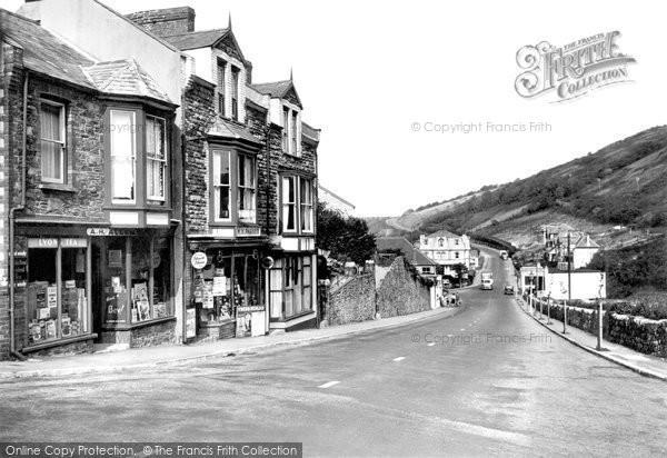 Photo of Hele, Main Road c1955, ref. H66006