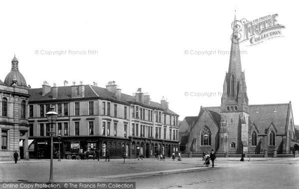 Photo of Helensburgh, Colquhoun Square 1901