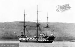 Helensburgh, HMS Empress 1901