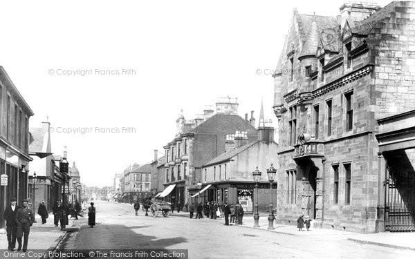 Photo of Helensburgh, Princes Street 1901