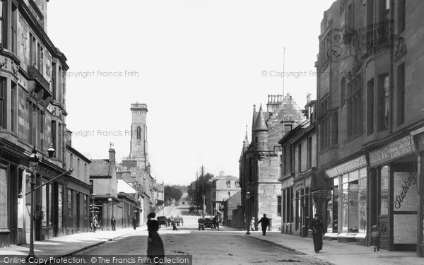 Photo of Helensburgh, Sinclair Street 1901