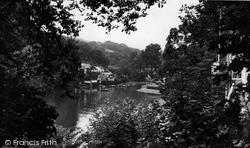 A Peep Through The Trees c.1955, Helford