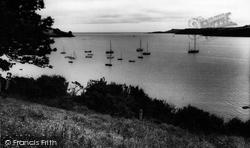 Mooorings c.1960, Helford