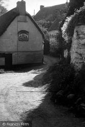 The Shipwright's Arms Corner c.1955, Helford