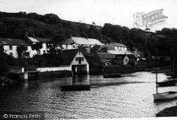 View From River c.1950, Helford